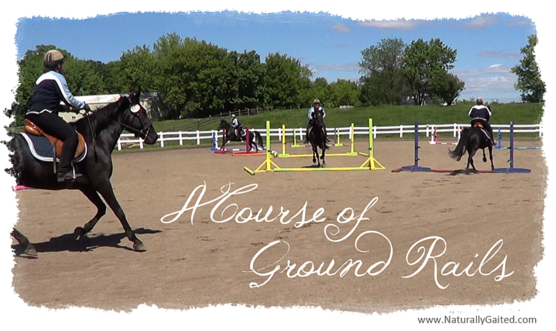 A course of ground rails