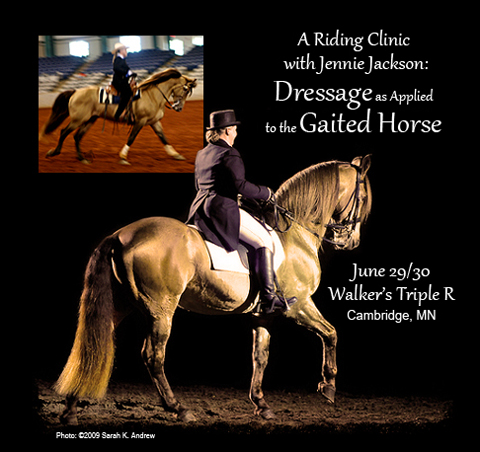 A Riding Clinic with Jennie Jackson: Dressage as Applied to the Gaited Horse