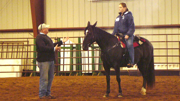 The annual B.L.E.S.S. Your Horse Clinic with Bucky Sparks was held June 6-9, 2008 in Proctor, MN.
