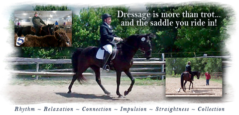 Dressage is more than trot and the saddle you ride in!