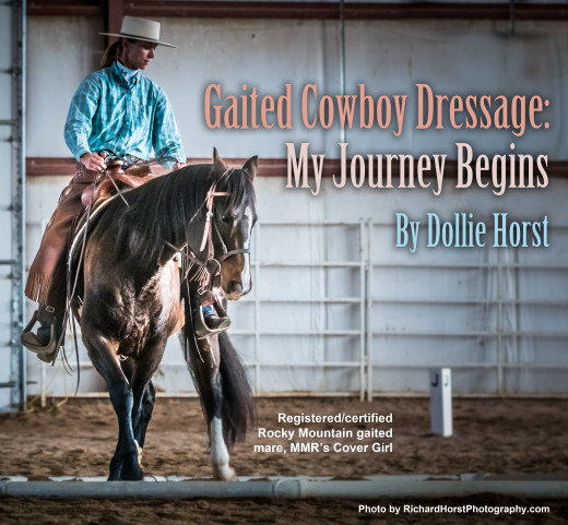 Cowboy Dressage: My Gaited Journey Begins