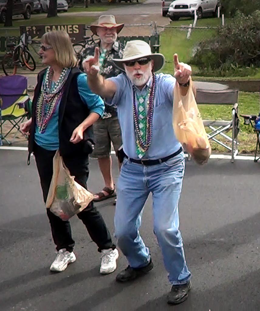 Parade patron