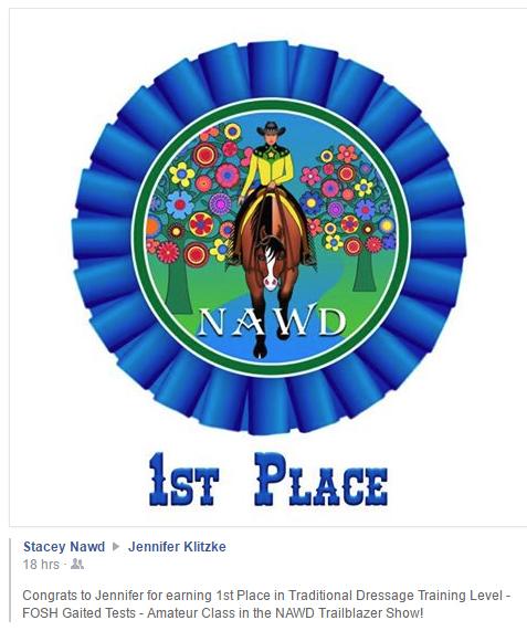 NAWD IJA TR1-first place
